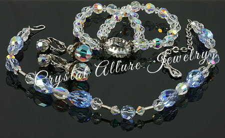 Mary Kay's original mix matched vintage crystal jewelry