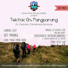 Event Sabuki : Tektok Gunung Pangparang, 27 Agustus 2017