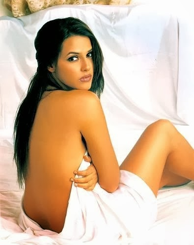 Neha Dhupia nude Backless photo