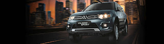 Pajero Sport Exceed 4x2 AT Medan