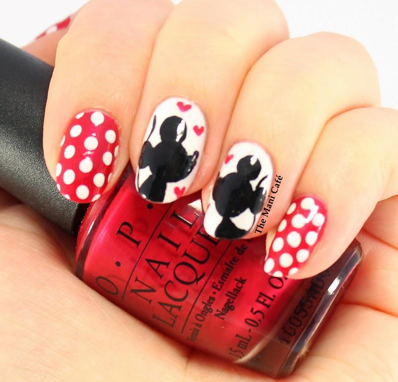 Mickey Mouse Nails: The Mani Café: Be My Valentine!