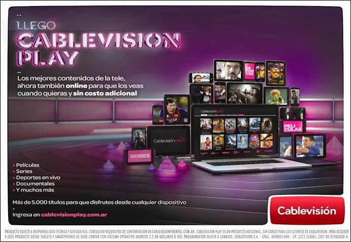 ESPACIO PUBLICITARIO: CABLEVISIÓN PLAY