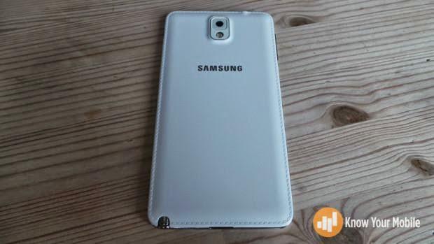Galaxy Note3 Back