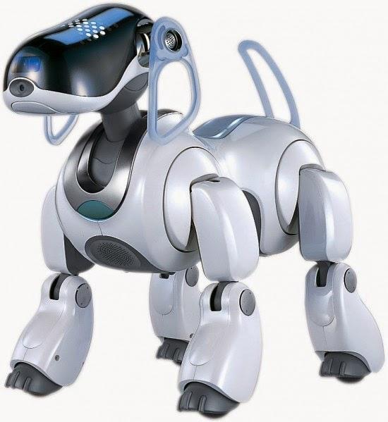 صورة لروبوت الكلب آيبو