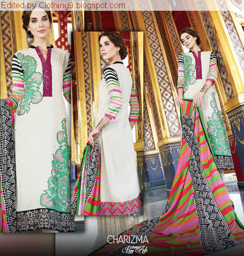 Charizma Winter Vol-3 2015 Pashmina Shawls