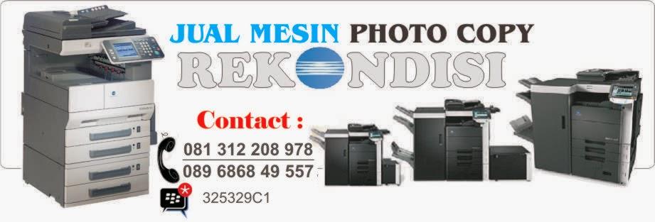 Jual Mesin FotoCopy Bekas | Jual Mesin PhotoCopy Rekondisi | Harga Mesin Photo Copy Minolta Bekas