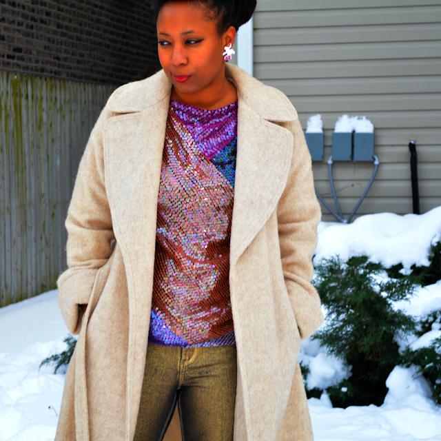 forecaster of boston vintage wool coat
