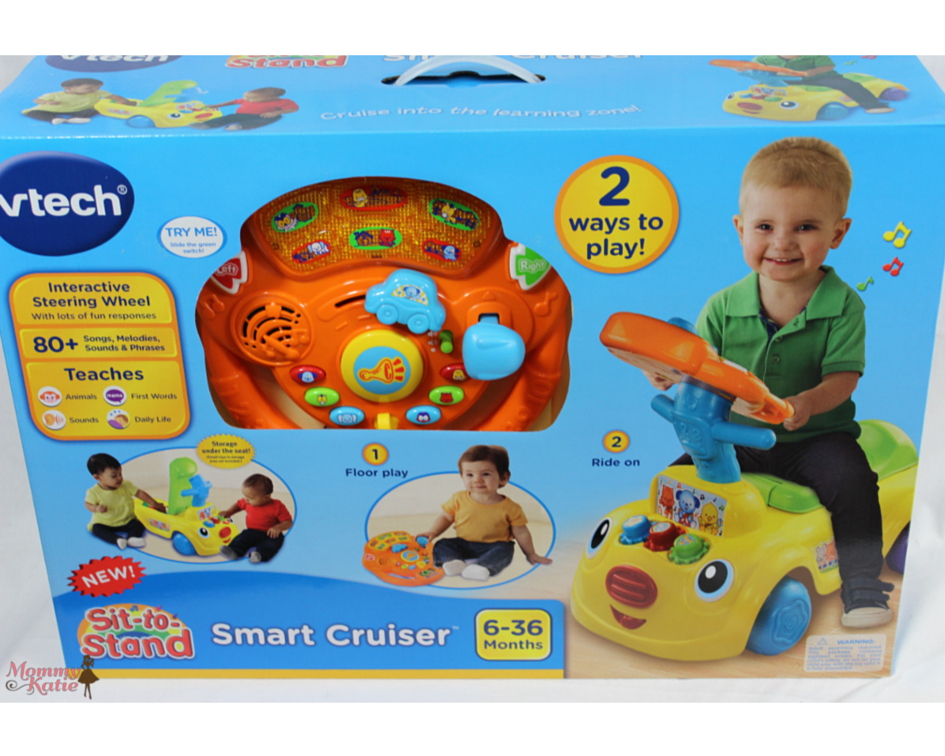Other Fun Toys With Him As He Is On The Go His Vtech Sit To Stand Smart Cruiser Making This A Great Riding Toy Get Your Busy Little Toddler
