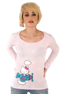 Cute pink Hello Kitty t-shirt