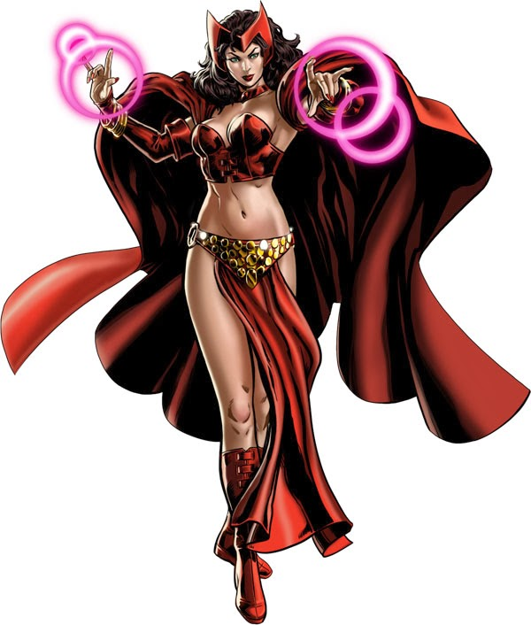 Scarlet Witch New Uniform