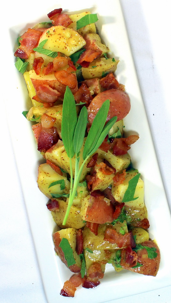 52 Ways to Cook: Warm Bacon Potato Salad with a Sage ...