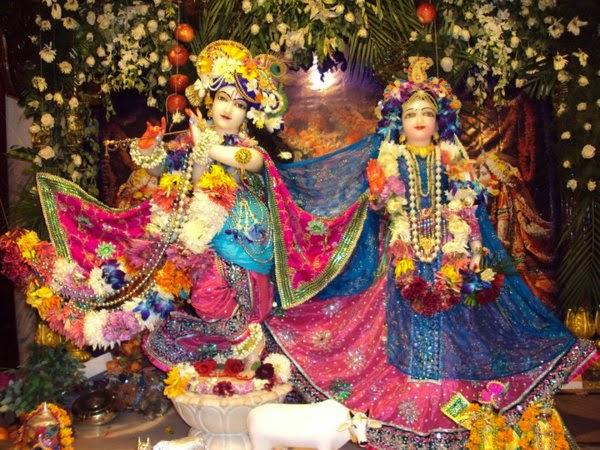 ISKCON Temple Noida (Uttar Pradesh), India