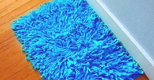C mo hacer una alfombra de flecos de totora paso a paso todo crochet - Alfombra trapillo facil ...