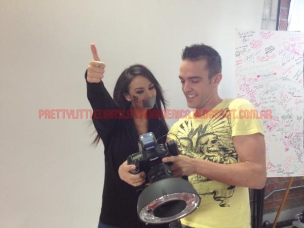 Pretty Little Liars Latinoamerica: Janel Parrish & Brant ...