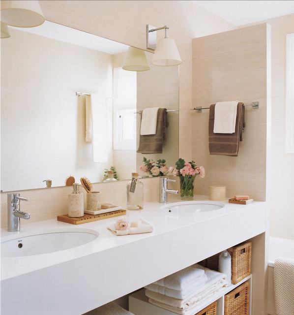 Iluminacion Baño Halogenos:Arquitetura do Imóvel : Ideias para deixar o banheiro organizado e