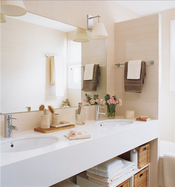 Iluminacion De Un Baño Pequeno:Arquitetura do Imóvel : Ideias para deixar o banheiro organizado e