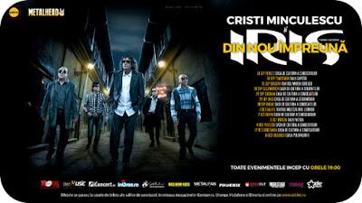 Cristi Minculescu si IRIS la Craiova