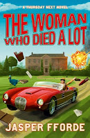 UK Book cover of The Woman Who Died A Lot (Thursday Next) by Jasper Fforde