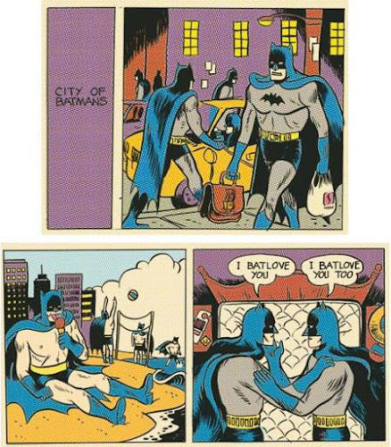 HQ - A cidade dos Batmen