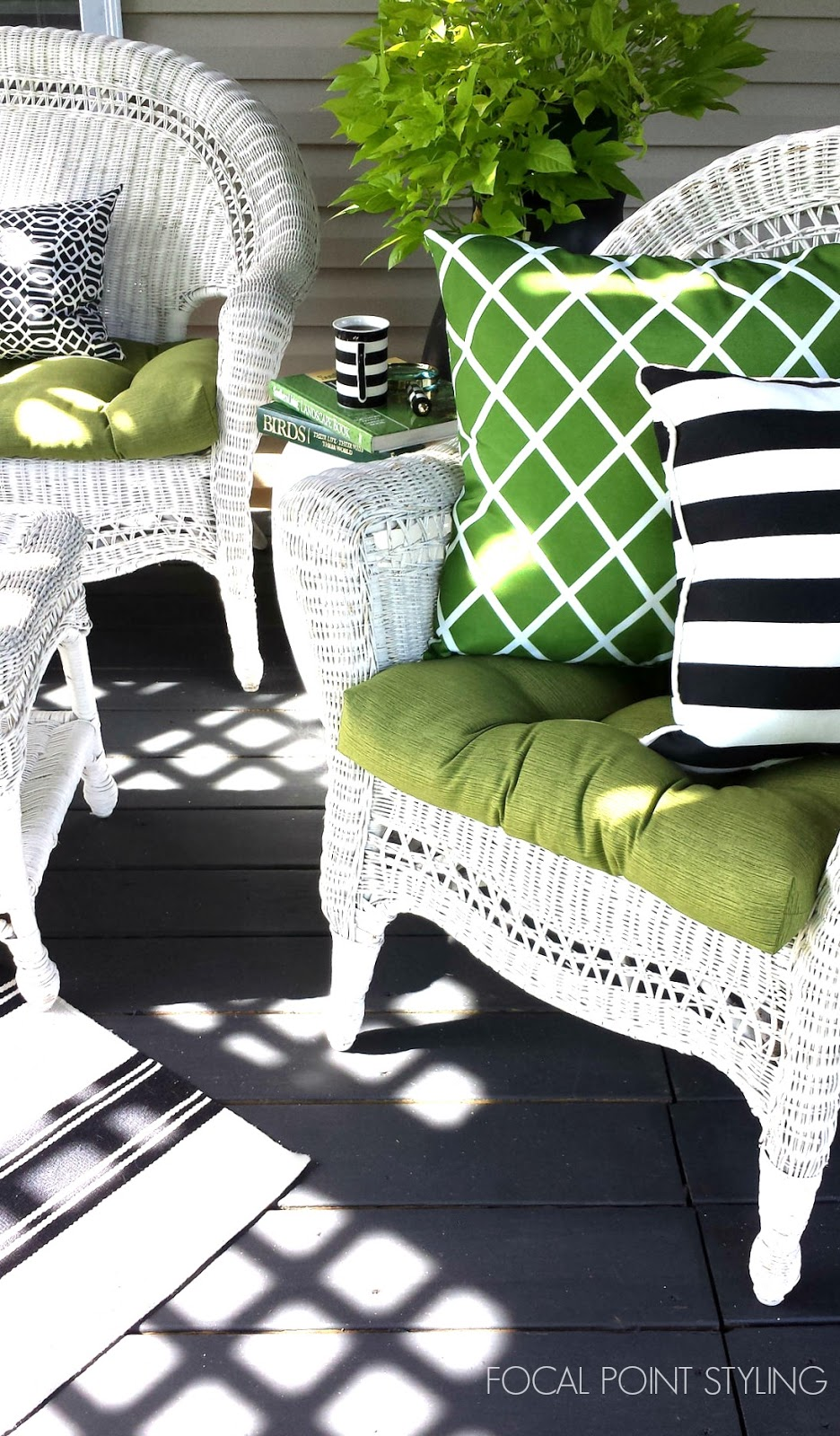 Stunning FOCAL POINT STYLING Easy Outdoor Decorating Mixing Old u New Deck Decor