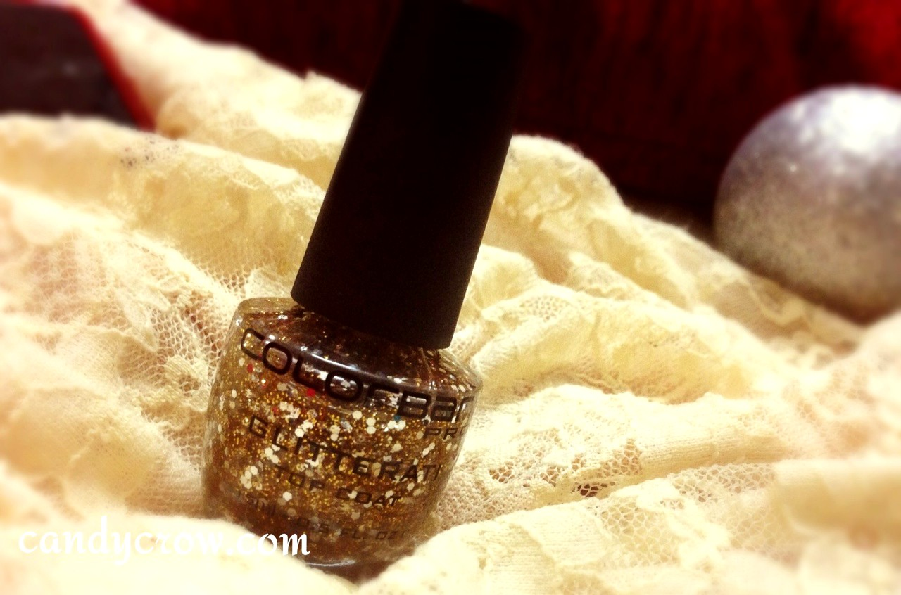 Colorbar Glitterati Top Coat Disco Gold Review