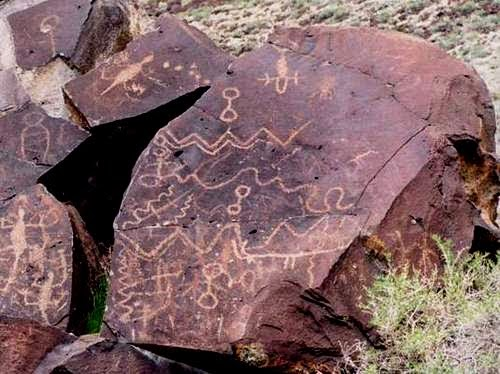 Greaser Petroglyph