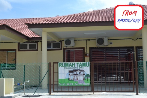 Homestay Risqina Bukit Gambang Resort City