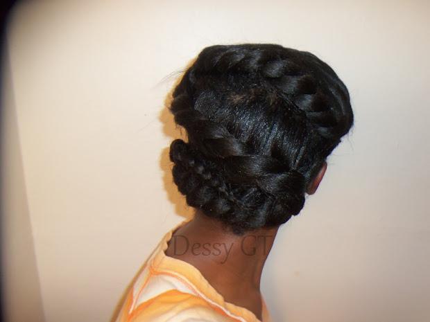 dessyluvs braid relaxed hair