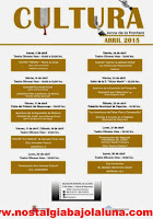 ACTIVIDADES CULTURALES ARCOS ABRIL 2015