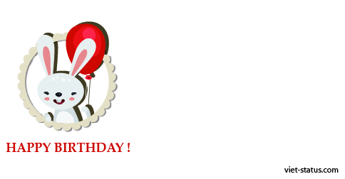 Status chúc mừng sinh nhật - mẫu 11
