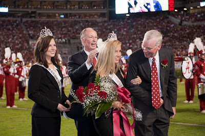 Emily McLaughlin '08 Named Homecoming Queen at the University of Alabama 1