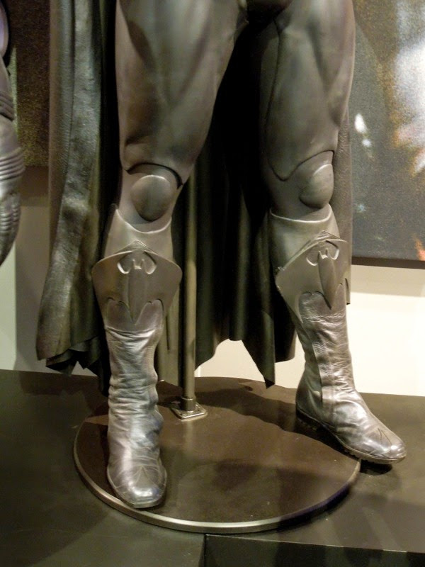 George Clooney Batsuit boots Batman Robin