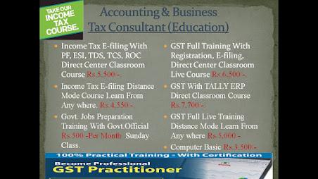 Learn GST Call : +91-9836614608