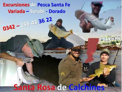 Excursiones de Pesca Santa Fe