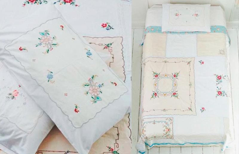 Decoração vintage: patchwork