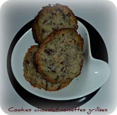 image Cookies chocolat noisettes grillées