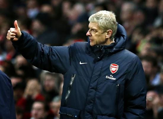 Arsene Wenger Arsenal Manager 2014