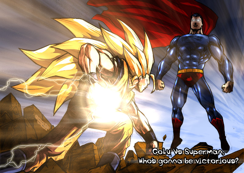 Goku Vs Superman… ¡Otra vez!