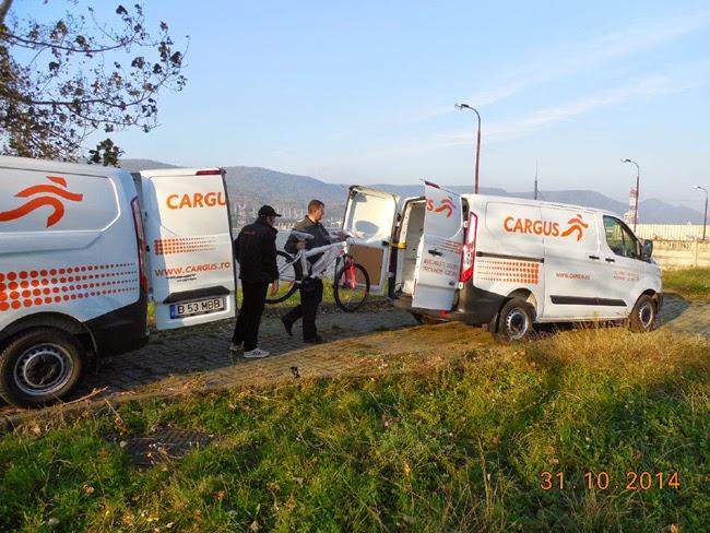 predarea bicicletei pe faleza Dunarii