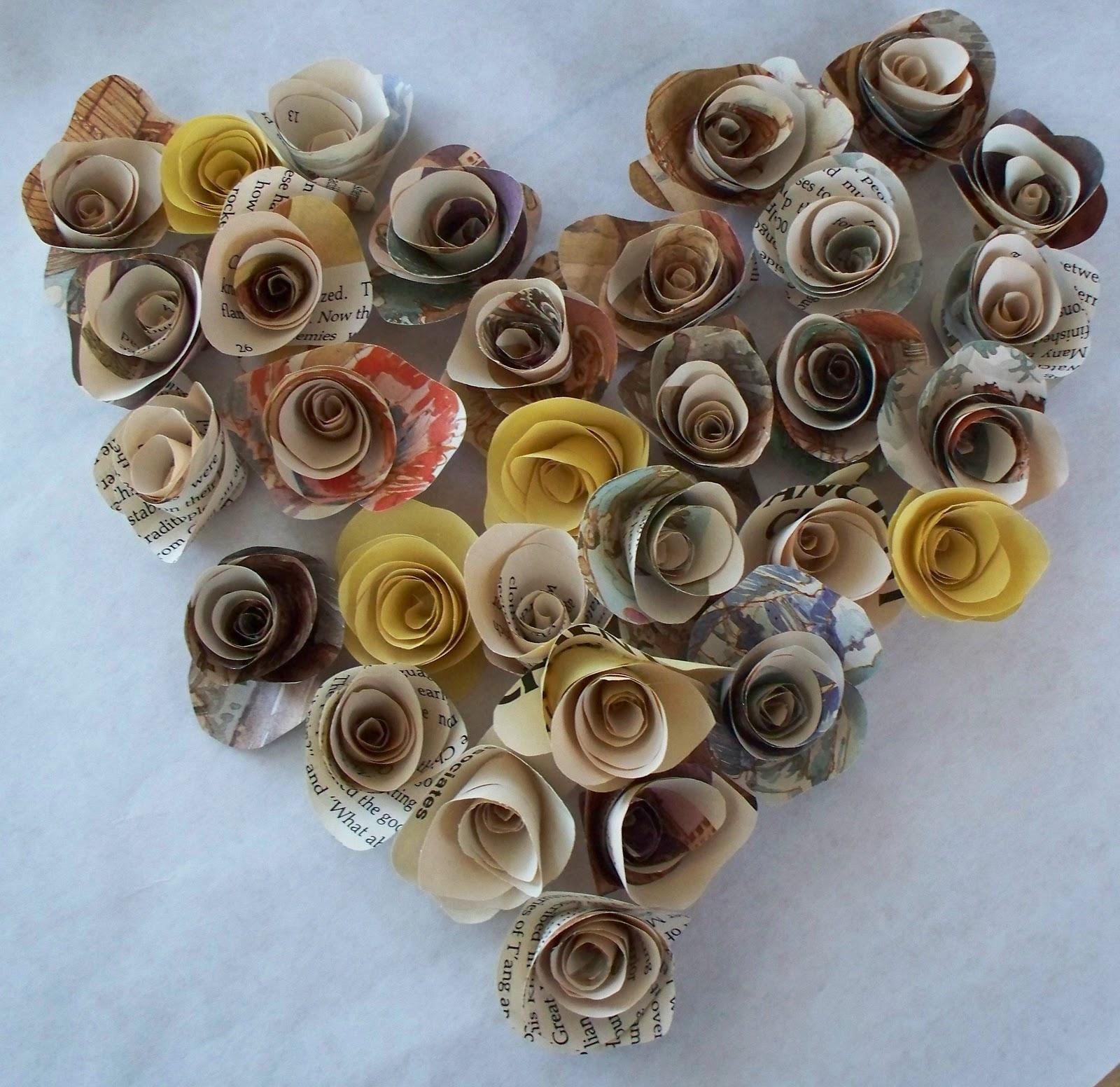 Krista sew inspired vintage paper flower tutorial esty listing sold mightylinksfo
