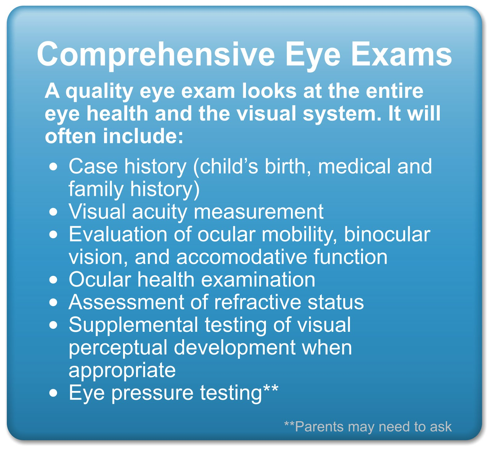 Monkey crew mama not all eye exams are comprehensive eye exams nvjuhfo Choice Image