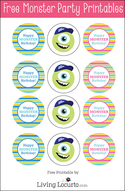 Monster Birthday Party Invitations with adorable invitation design
