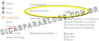 mostrar comentarios no blogger