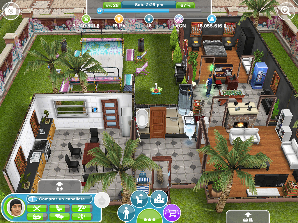 Los sims free play marzo 2013 for Casa de diseno the sims freeplay