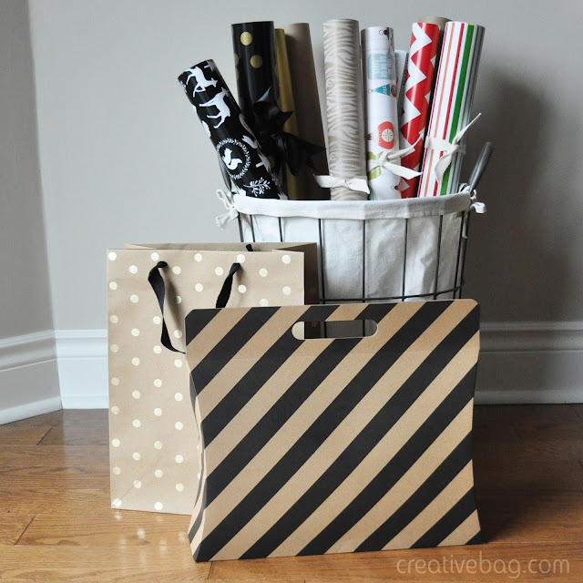 wrapping paper cake stand liners diy | Creative Bag