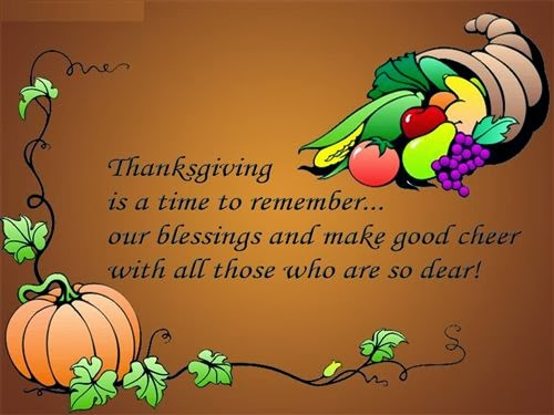 Meaning Thanksgiving Blessings Quotes