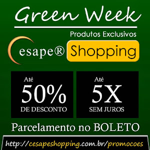 GREEN WEEK | CESAPE SHOPPING