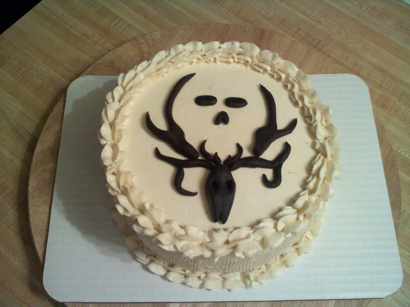 Bone Collector Birthday Cake
