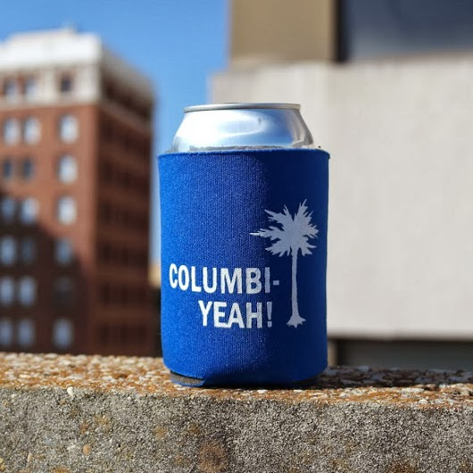 Columb-yeah! koozie -- photo credit: Josh Hutto