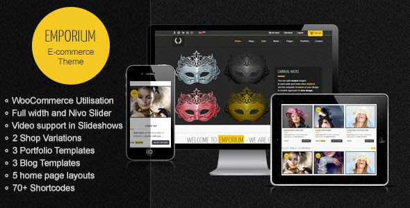 Emporium Responsive WordPress WooCommerce Theme Version 1.8 free
